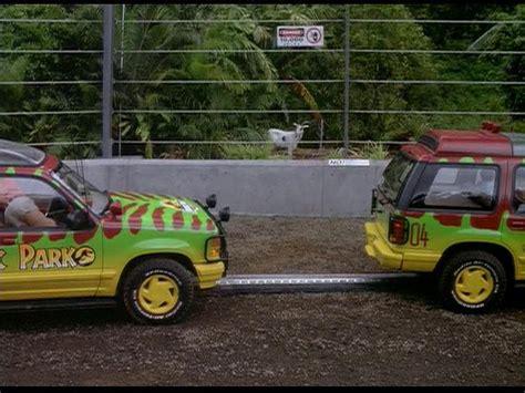 jurassic park car 1993 ford explorer xlt un46 7 best movie cars