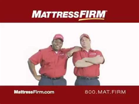 Mattress Firm Commercial by Mattress Firm Commercial With Ernie Macias
