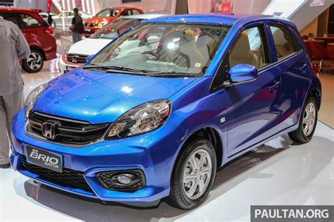 honda brio honda brio facelift with new interior launched indonesia