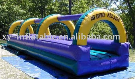 backyard flat water slide for water