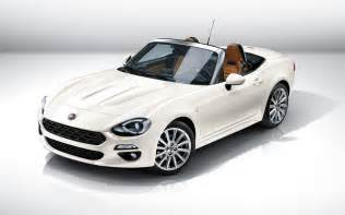 Spider 124 Fiat Fiat 124 Spider 2017 Wallpaper Hd Car Wallpapers