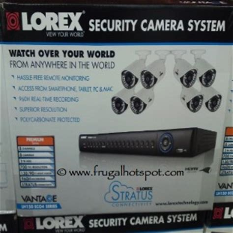 costco sale lorex security system lh1896 399 99