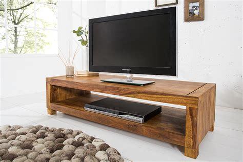 Designer Tv Board by Massives Design Tv Board Couchtisch Madeira 110cm Sheesham