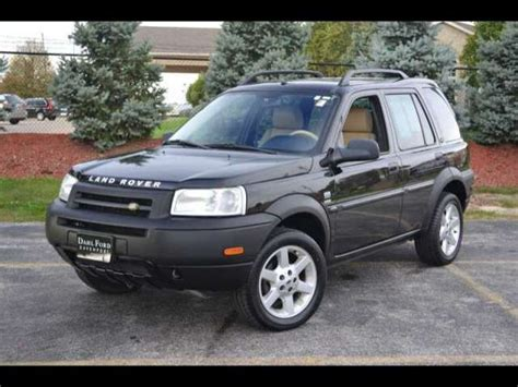 land rover freelander 2003 2003 land rover freelander information and photos