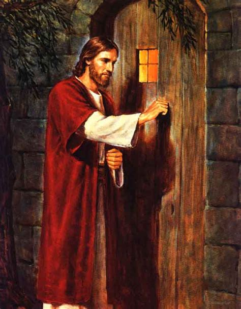 Free Picture Of Jesus Knocking At The Door by Ldsimages Knocking