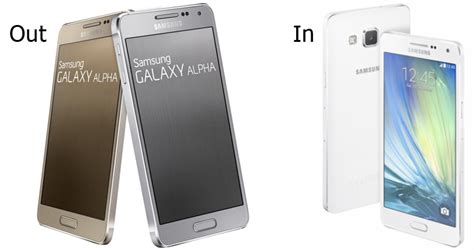 Hp Samsung Alpha A5 samsung plans to discontinue galaxy alpha in favor of mid tier a5 says korean rumor 9to5google