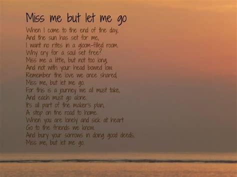 Poem Miss Me But Let Me Go See Original Photo On Www