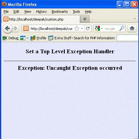 repository pattern error handling exception handling in php part 2