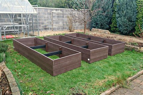raised beds maintenance free raised beds irish recycled products