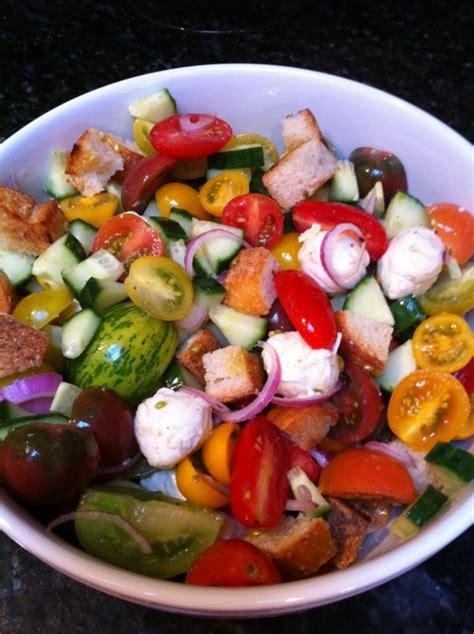 italian bread salad recipe ina garten 17 best images about john s birthday lunch on pinterest