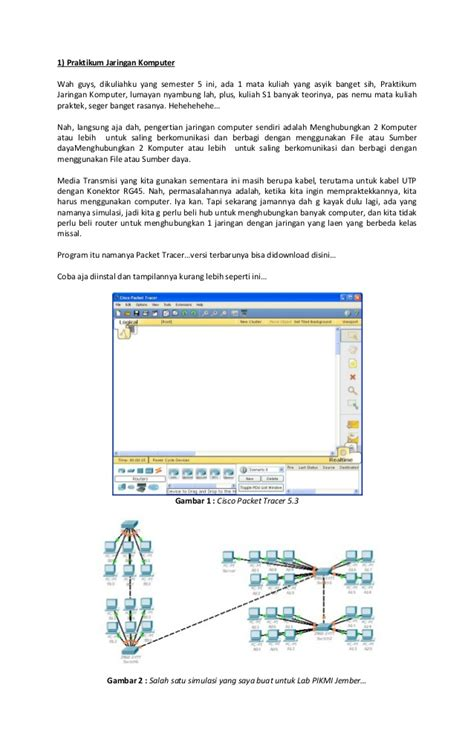 tutorial cisco packet tracer lengkap tutorial jaringan cisco packet tracer 5 3