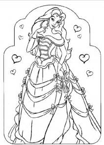 princess coloring sheet princess coloring pages