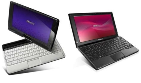 Lenovo S10 3 lenovo introduces ideapad s10 3 netbook and s10 3t tablet liliputing