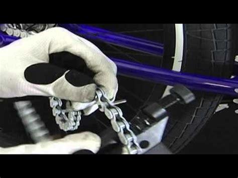 engrasar cadena bicicleta wd 40 con tensa cadenas casero doovi