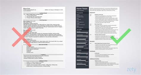 Resume Template One Page by One Page Resume Templates 15 Exles To And Use Now