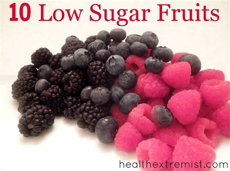 0 sugar fruits best low sugar fruits healthy