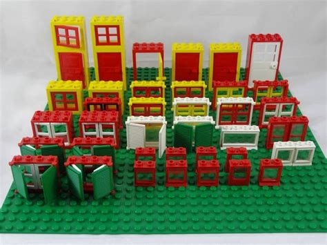 lego boat window vintage lego windows doors various themes good