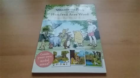 Press Out Model Book winnie the pooh and the hundred acre woods press out model book giveaway prize from ookbooks