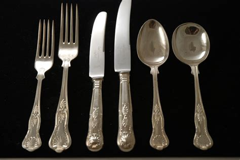 kings pattern knives and forks photos of silverware patterns silver plate flatware set
