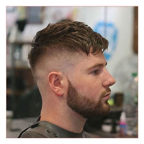 crop hairstyles for men mens medium length wavy hairstyles together with peaky