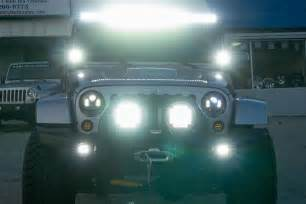 ideas jeep wranglers and led on