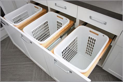 pull out baskets for bathroom cabinets pull out laundry her cabinet laundry her cabinet