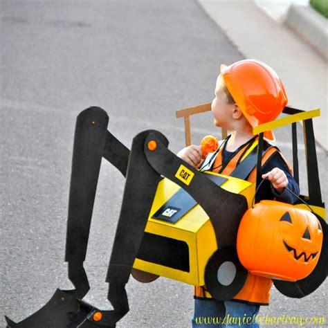 happy hallween construction equipment costume