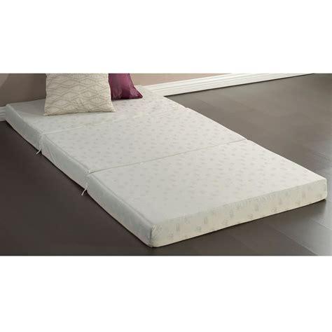 Kasur Busa Big Foam Single Size 4 Inch Thick Memory Foam Guest Bed Mat Folding Mattress Fastfurnishings