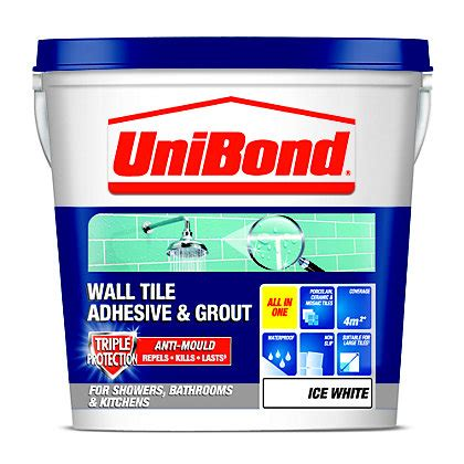 bathroom tile adhesive and grout unibond anti mould tile grout black