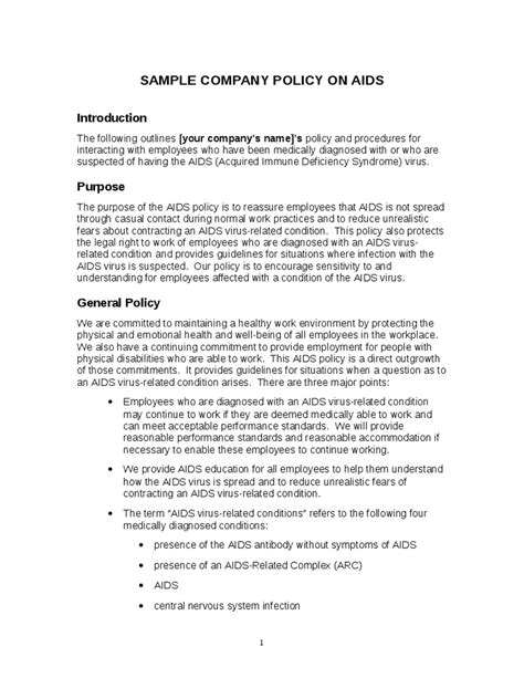 company policies and procedures template free company policies and procedures hashdoc