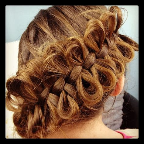 pretty hairstyles using braids the bow braid cute braided hairstyles cute girls