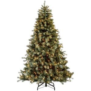 martha stewart living 9 ft indoor pre lit glittery bristle pine artificial christmas tree martha stewart living 7 5 ft indoor pre lit lakewood blue spruce artificial tree