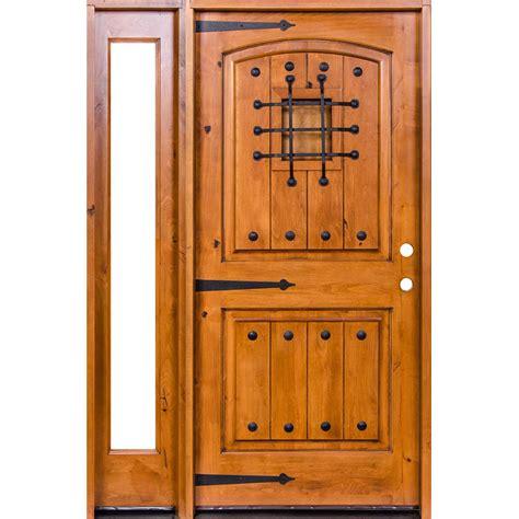 krosswood doors 18 in x 80 in knotty alder 2 panel krosswood doors 50 in x 96 in mediterranean knotty alder