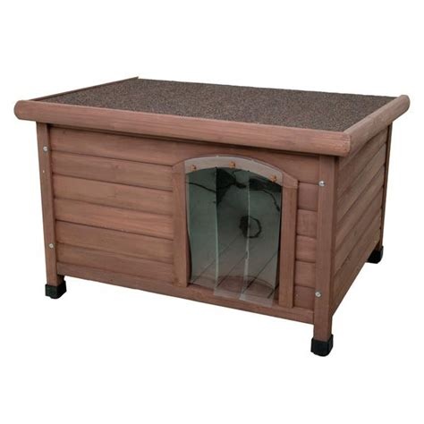 medium size dog house wooden dog house kennel with flat roof ideal for small or medium size dogs