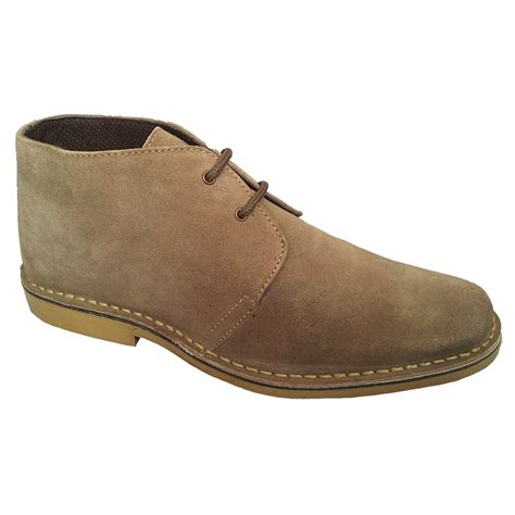 roamer mens sand desert boots m618bs buy at marshall shoes