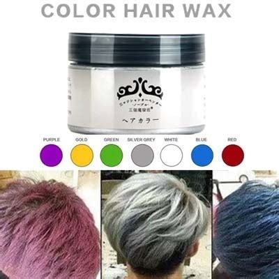 color wax qoo10 japan hair color wax instant hair colour wax high
