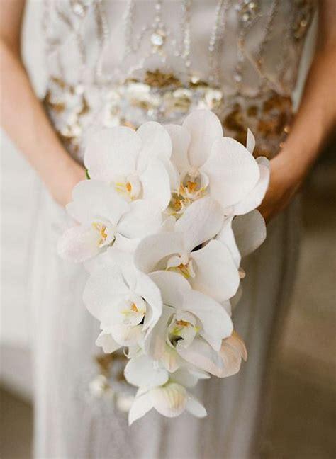 Orchid Wedding Bouquet orchid wedding bouquets in brilliant colors modwedding
