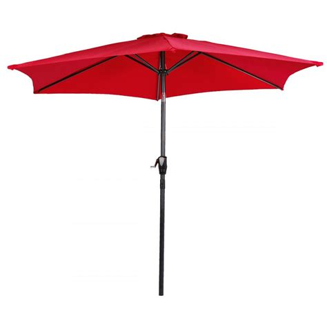 Metal Patio Umbrella New Patio Umbrella 9 Aluminum Patio Market Umbrella Tilt W Crank Outdoor 9638 Ebay