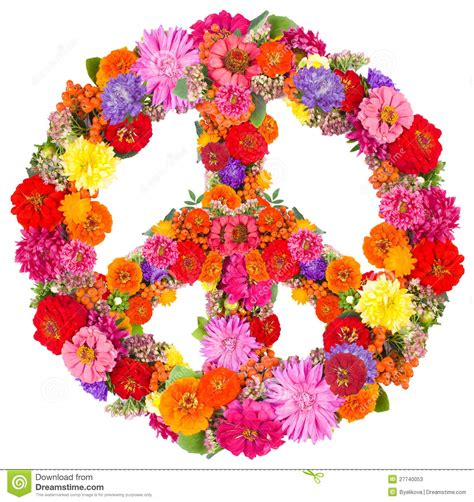 Armchair Car Sign Peace From Flowers Stock Photos Image 27740053