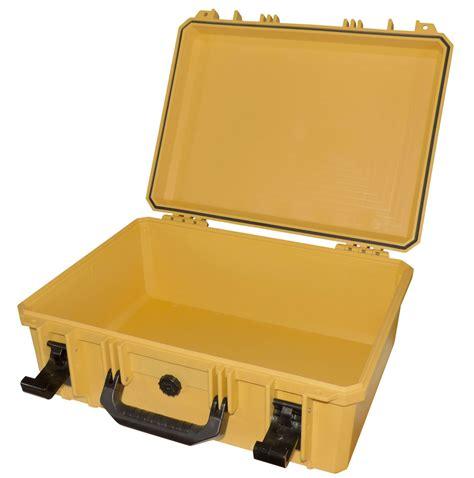 cassetta stagna cassetta stagna vuota gialla 50x41x20cm