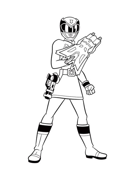 power rangers para colorear e imprimir power rangers dibujos animados infantiles para colorear