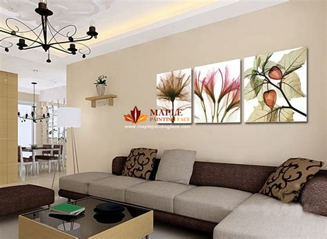 Peinture Mur Salon by Decoration Murale Moderne Salon