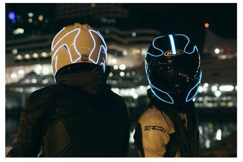 motorcycle helmet led lights helmet lights how to light up your helmet like