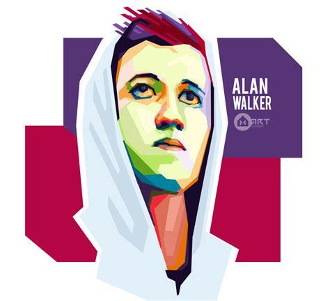 alan walker vector alan walker in wpap by hart creation on deviantart