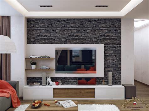 Stone Brick by Finisare Si Amenajare Living Cu Piatra Decorativa Basa Stone