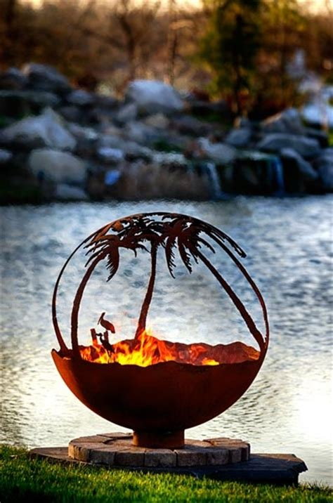 globe pit 17 best images about pits firebowls pit