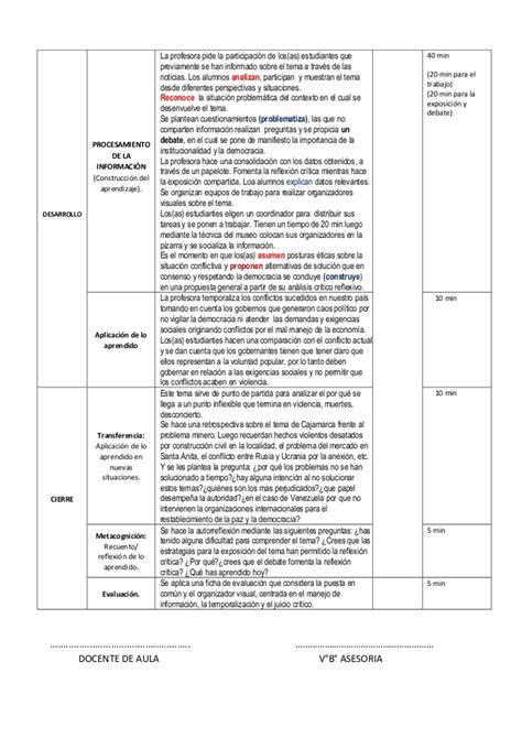rutas de aprendizaje hge sesiones de clase hge con rutas 2014