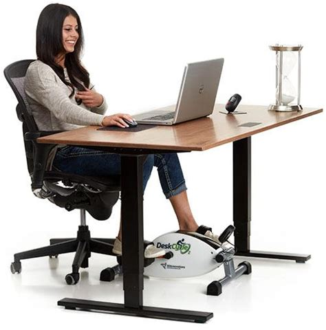 Stationary Bike For Desk by Deskcycle Desk Exercise Bike With Reviews