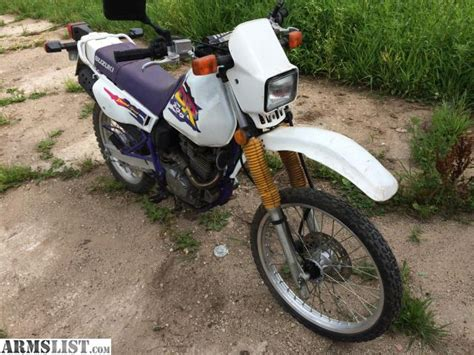 Suzuki Enduro Motorcycles For Sale Armslist For Sale Trade 1997 Suzuki Dr 200 Enduro