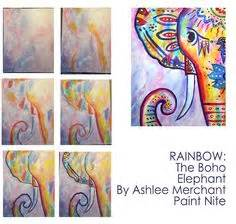 paint nite elephant paint nite drink paint we host painting events